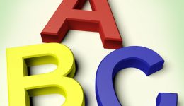 Kids Letters Spelling Abc As Symbol For Education And Learning