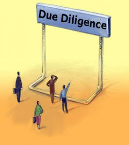 Due Diligence Hurdle