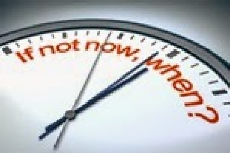 If Not Now When clock