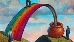 Rainbow & Pot of Gold1