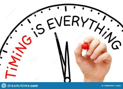 timing-everything-clock-concept-hand-writing-drawn-marker-transparent-wipe-board-importance-choosing-148566340